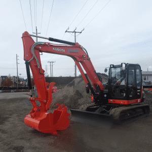 2018 Kubota KX080-4S Excavator